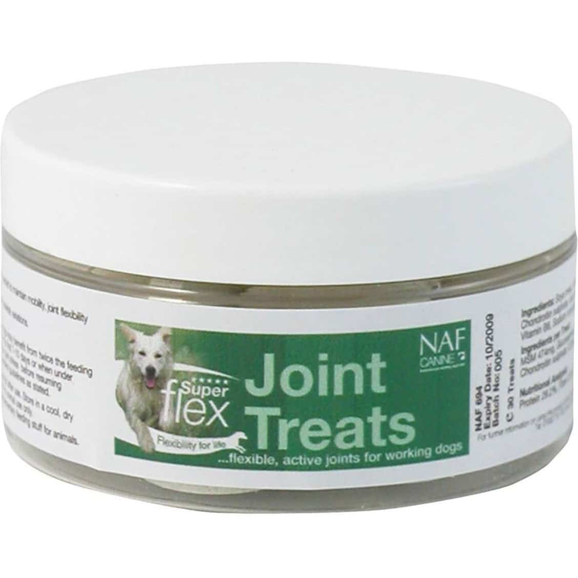 Complément alimentaire pour chiens NAF Canine Superflex Joint Treats 30 Tablet from Rideaway